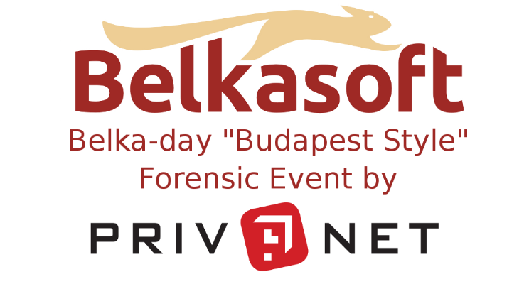 "Belka-day ""Budapest Style"" – Forensic Event by Privnet"